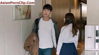 Korean boy fucking step sister